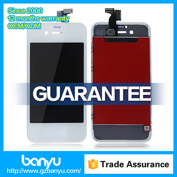 Replacement screen with digitizer lcd assembly front and back for iphone 4s