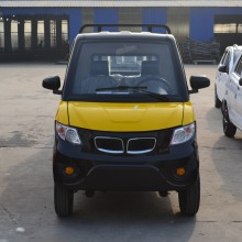 2 Seaters Electric Cargo Truck Electric Solar Pickup Truck