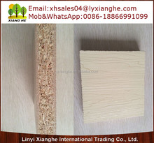 types of wood particle board ,indoor usage melamine chipboard