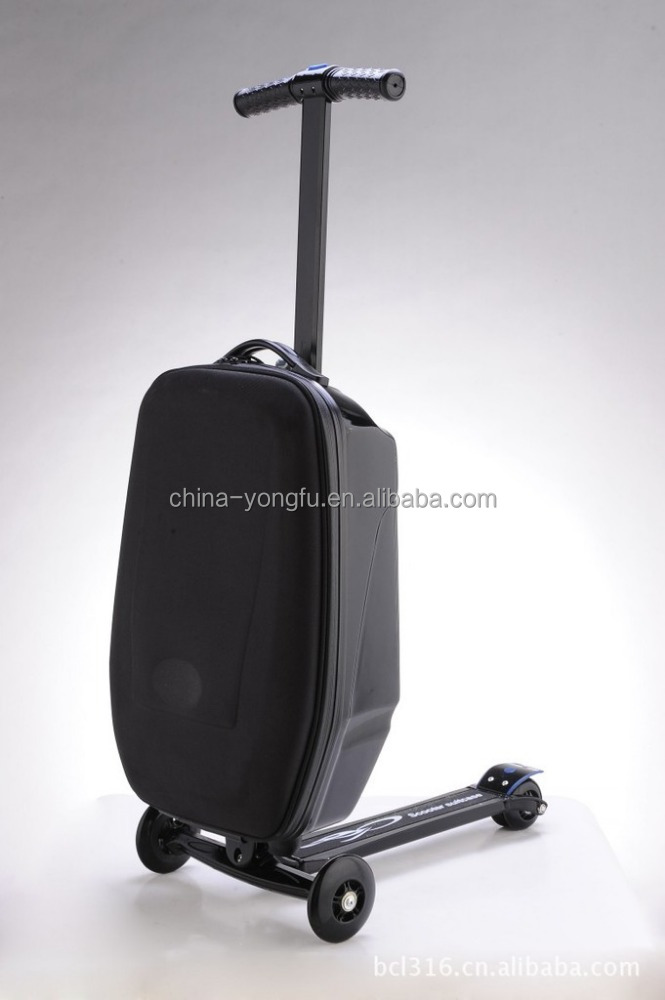 High quality fashion scooter luggage and suitcases Scooter