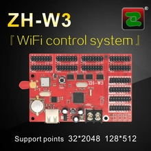 LED Module Controller Zhonghang-W3 p10 rgb LED WiFi Controller Supports Single/Dual Color
