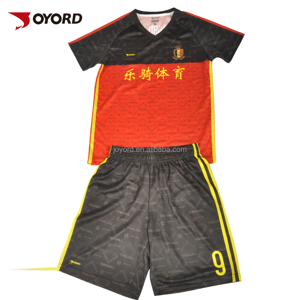 Classic Football Club Sublimation Short Sleeve Men Soccer Jersey Excellent Condition