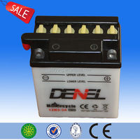 Ordinary dry charged lead acid motorcycle battery Wet charge motorcycle battery