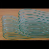antistatic pvc curtain strip with uv treated plastic sheet sand rolls
