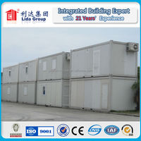 Qualified steel structure prefabricate container house for office warehouse factory villa workshop security house