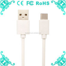 White Type C To USB 2A Charger Cable 1m / 2m / 3m Type C 2.0 Cords Type C 2A USB C