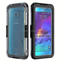New products shockproof waterproof 5.7 inch mobile phone case for samsung note 5