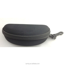 hard shell sunglasses case, black color unisex glasses bag,can print your logo