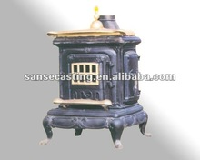 Multi fuel wood pellet cooking stove