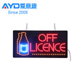 2018 Hot Sail Outdoor Open Acrylic LED Sign Programmable Sign Display Board Sign