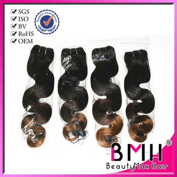 Most stylish ombre remy hair brazilian hair color dye