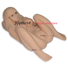 Full real silicone sex dolls,3D size Full silicone sex doll for men with vagina,breast and anal