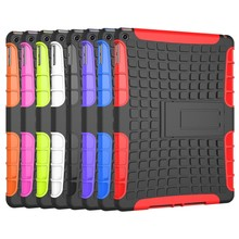waterproof case new design wholesale with armor holder for ipad 6 case