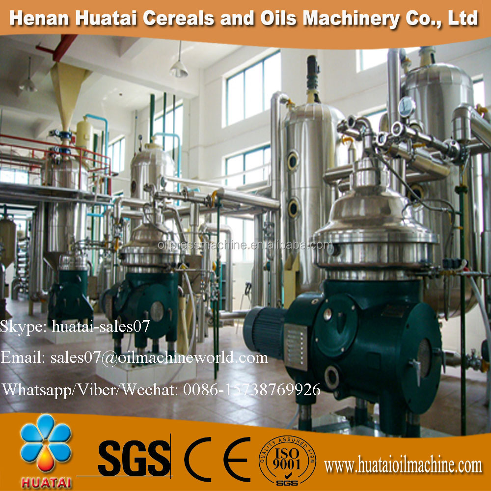 Huatai 2017 Perfect Price 100TPD Palm Oil Refinery Plant and Palm Oil Refining Machine and Edible Oil Refinery Plant for Sale