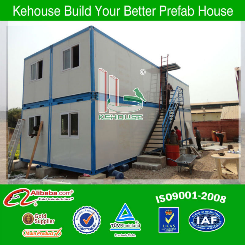 KH sandwich panels 20ft modular container living room/20ftcontainer house/steel structure container house