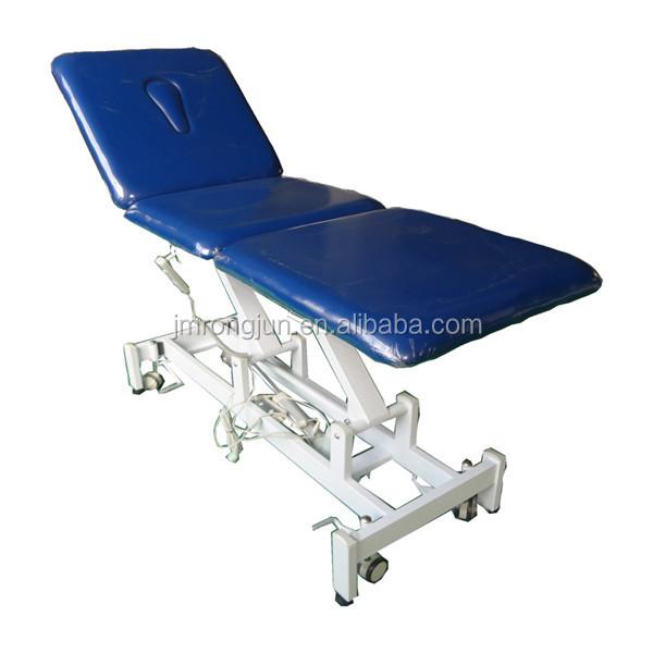 Lectrique beaut traitement canap physioth rapie th rapie lit table de massage pour la - Lit de massage electrique ...