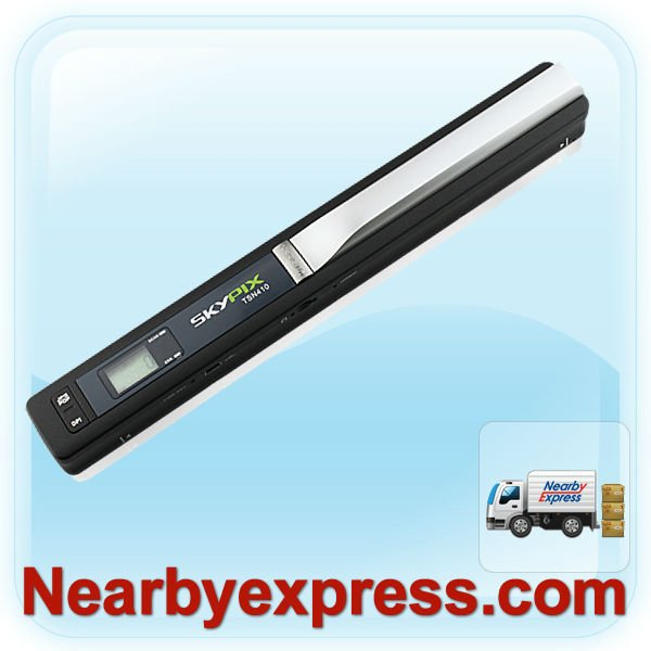 Mini SKYPIX Handy Handheld Portable Scanner 900DPI A4 Photo Handyscan TSN410 Primier