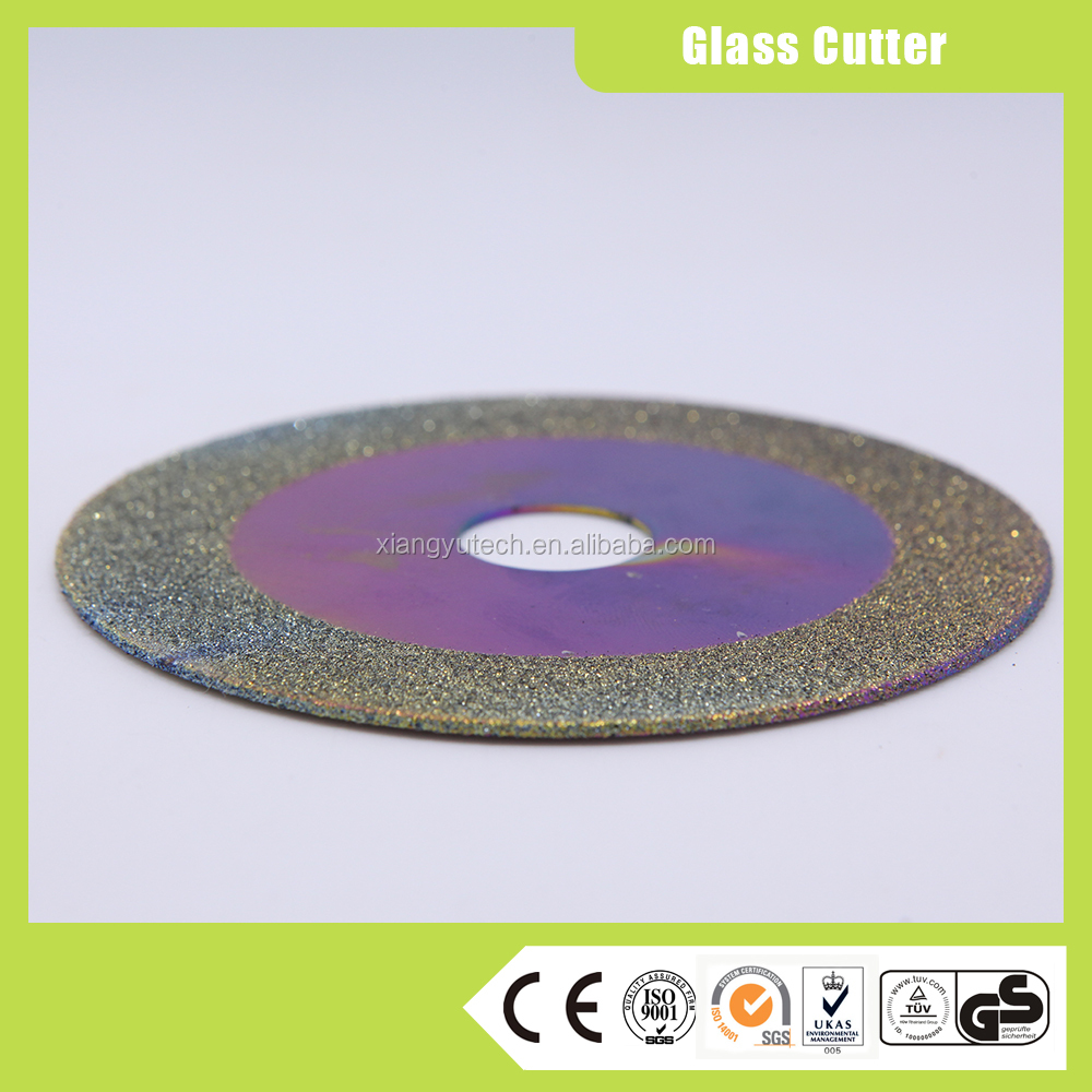 electroplating diamond CUP shape glass ceramic tile grinding wheel disc