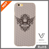 factory supply high quality 3D custome design hard pc mobile phone case for iphone 6 6s plus