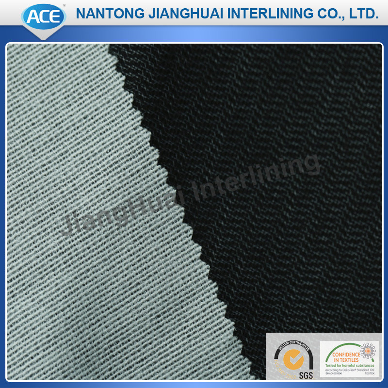 Warp knitting interlining/100% Polyester Interlining Fabric for compositing