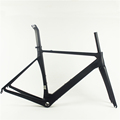 Chinese velo de route carbon bike frame 3K clear coating DI2 carbon frame bike