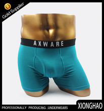 Zhejiang manufacture 95% bamboo fiber 5% spandex gay underwear for USA market
