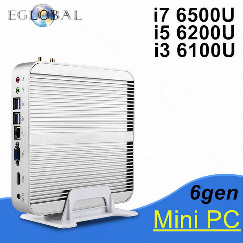 Eglobal Industrial Mini PC GK-1037U Barebone Intel Celeron 1037U Dual Core 1.8GHz, 2M Cache 4 COM 2 Lan Free Ship Fanless Nettop