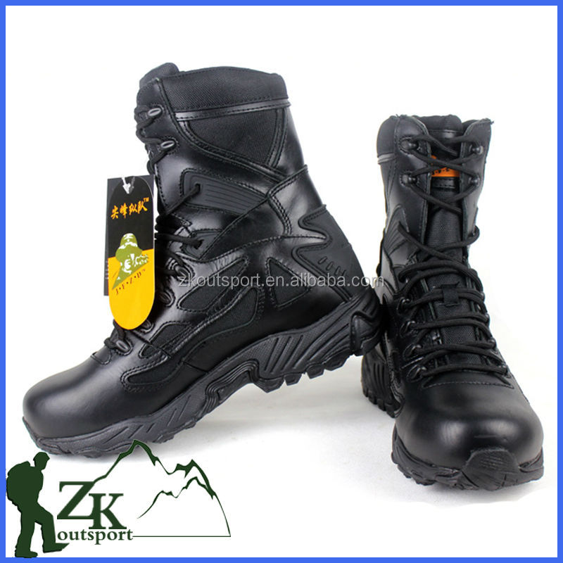 Factory Breathable Rubber Sole Desert Combat Military Special Forces Boots
