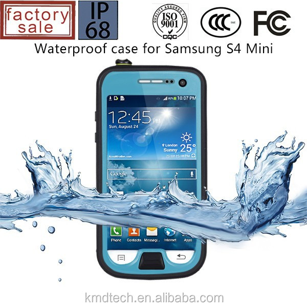 Dustproof Shockproof Waterproof Case for Samsung Galaxy S4 Mini Red Repper