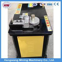30mm 40mm manual steel bar bending machine angle iron bender GW40 semi automatic machine