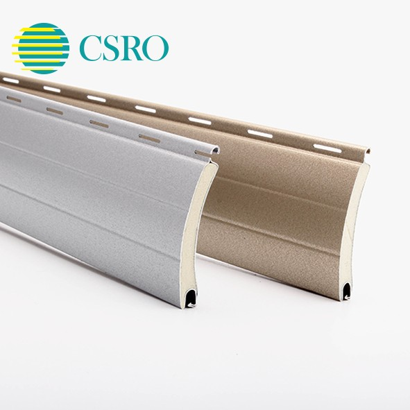 45mm Aluminum rolling shutter parts boards
