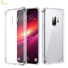 S9 Case , Shockproof Series Crystal Clear Hard Protect Phone Case For Samsung Galaxy S9