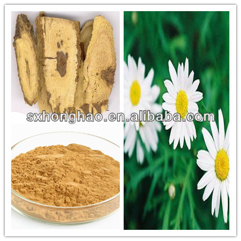 Natural feverfew extract parthenolide