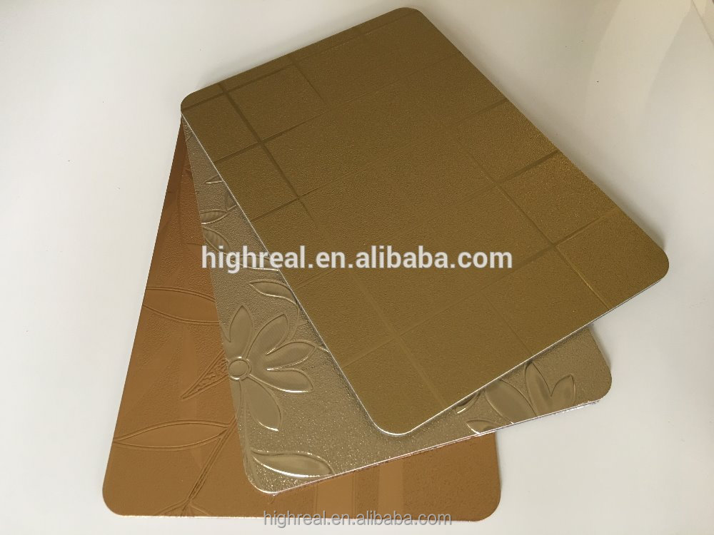 Best price of excellent decorative plastic wall covering sheets for sale