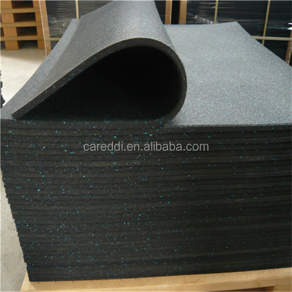 Sound Insulation Rubber Flooring for Fitness Room/Gym Rubber Flooring