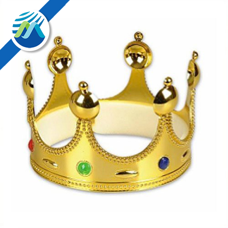 Gold Queen King or Prince Crown Party Decoration