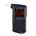 Black Color Alkohol Tester for Cars Digital Display Breathalyzer Tester gf-at858