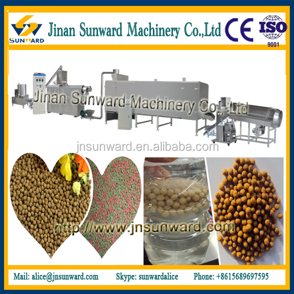 Large capacity catfish fish food pellet mill