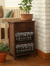 Beauty Brown Paper Drawers Cabinet antique reproduction french style furniture