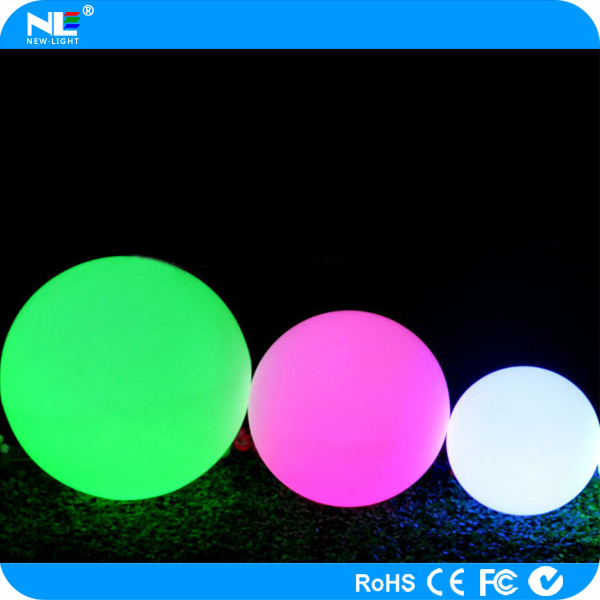 Outdoor decoration battery operated LED light balls / LED magic bar ball light furniture