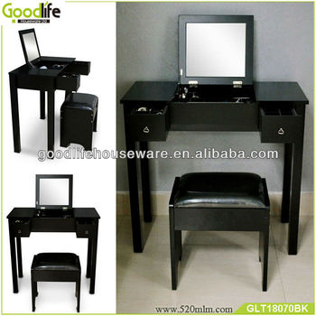 White makeup table modern bedroom sets from China supplier