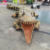 KANO6639 Museum Exhibition Animated Life Size Animatronic Alligator Statue Sale