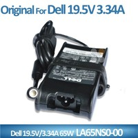 19.5v 3.34 ac dc adapter for dell HA65NS1-00 LA65NS0-00 PA-12 Charger Power Supply Cord
