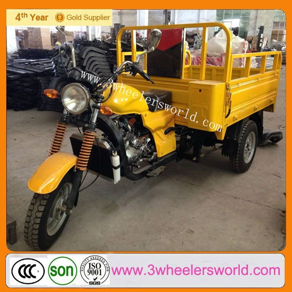 New 3 wheel trike/petrol cargo motorcycle made in china
