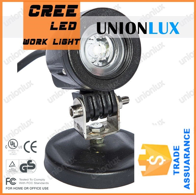 Unionlux sport health 10W LED Work Light, motocycle LED driving light