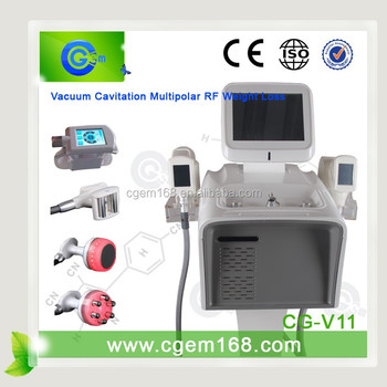 CG-V11 2016 New slim sonic cellulite reduction machine, fat reducing machine, slim weight loss