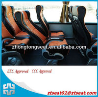 ZTZY3170 CE/EEC/E-mark approved bus reclining passener seat for Europe market
