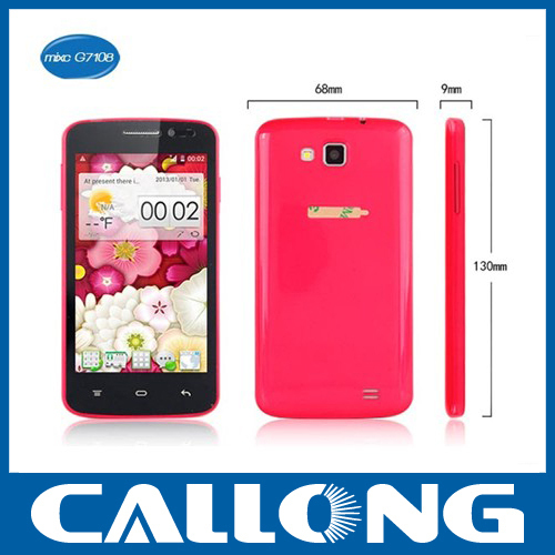 "mixc G7108 4.3"" MTK6572 Dual Core 512MB RAM 4GB ROM usa wholesale cell phones"