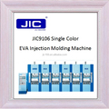 JIC9106 one color eva shoe sole injection molding machine