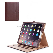 wholesale factory price Casual leather tablet protective case cover for ipad air 2 & mini 3